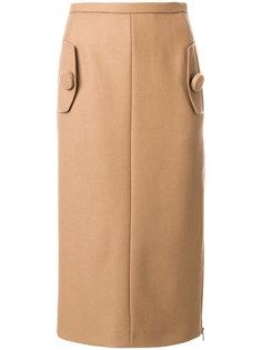 юбка-карандаш с карманами Nº21