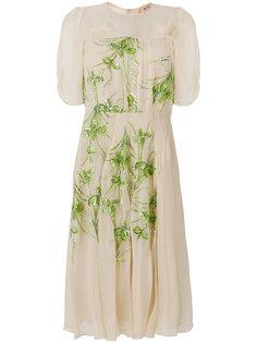декорированное шифоновое платье Nº21