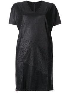 короткое платье с V-образным вырезом Diesel