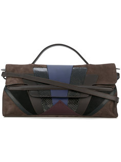 панельная сумка-тоут Zanellato