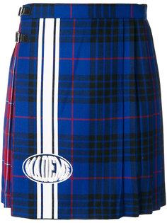 клетчатая юбка со складками Mademe