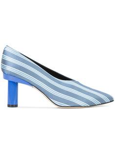 полосатые туфли Tibi
