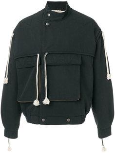 куртка-бомбер  с кисточками Maison Margiela