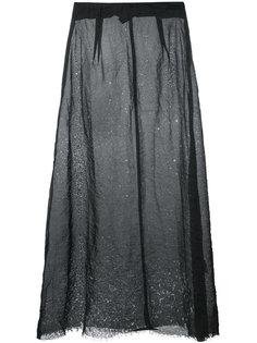 юбка с эффектом помятости  Yang Li