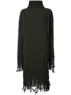 платье-свитер с отделкой из бахромы Yang Li