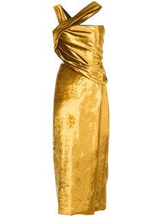приталенное платье-миди Jason Wu