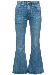 высветленные джинсы клеш Brock Collection
