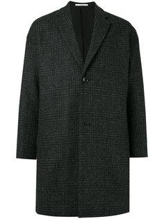 пальто с узором в ломаную клетку N. Hoolywood