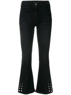 укороченные расклешенные джинсы 3X1