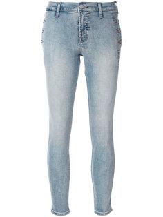 брюки скинни с выцветшим эффектом J Brand