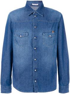 джинсовая рубашка Notify