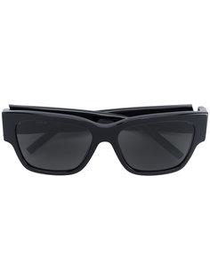 классические квадратные солнцезащитные очки Saint Laurent