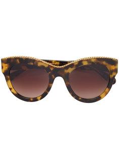 солнцезащитные очки в объемной оправе Stella McCartney