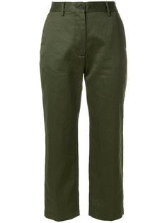 укороченные прямые брюки Pence