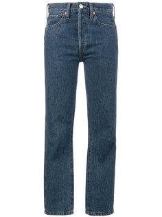 укороченные узкие джинсы Re/Done