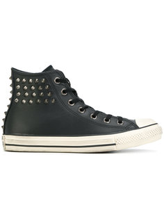 кроссовки с заклепками Converse