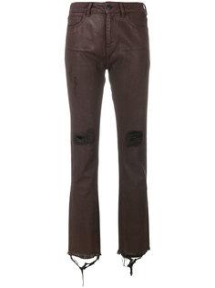 джинсы скинни с рваными деталями Marcelo Burlon County Of Milan