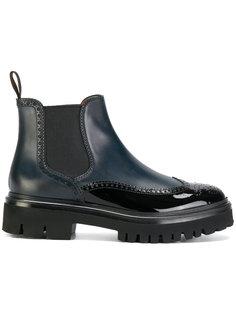 ботинки на утолщенной подошве Santoni