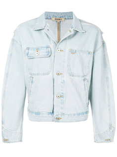 объемная джинсовая куртка Yeezy