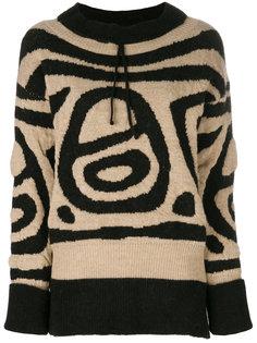 свитер с узором Vivienne Westwood Anglomania