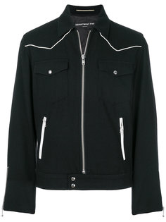 куртка на молнии с накладными карманами Department 5