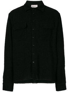классическая рубашка с карманами с клапанами Laneus