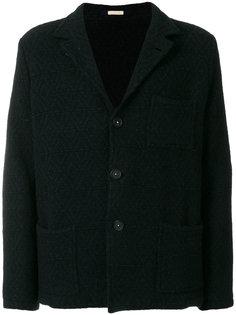 однобортное пальто Massimo Alba