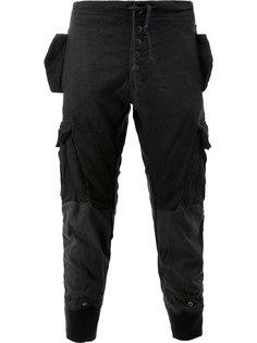лоскутные спортивные брюки Greg Lauren