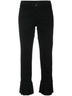 укороченные слегка расклешенные брюки Cambio