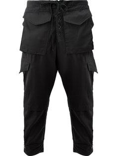 брюки с крупными карманами Greg Lauren