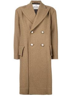 двубортное расклешенное пальто  Vivienne Westwood