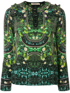 блузка с рюшами Piccione.Piccione