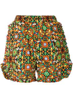 шорты с оборками  La Doublej