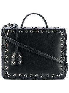 сумка с декоративной строчкой Mark Cross