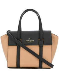мини сумка-тоут с контрастным дизайном Kate Spade
