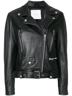 укороченная байкерская куртка Gaelle Bonheur