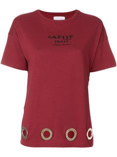 футболка с люверсами Gaelle Bonheur