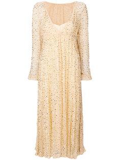 длинное платье с глубоким вырезом Aniye By