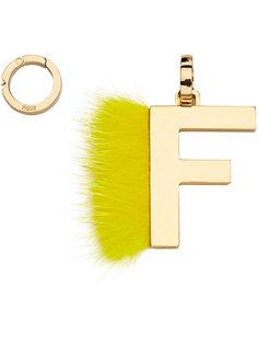 подвеска в виде буквы F Fendi