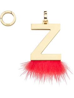 подвеска в виде буквы Z Fendi