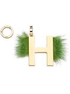 подвеска с буквой H Fendi