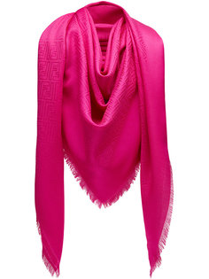 шарф с монограммным принтом Fendi