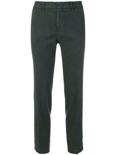 укороченные строгие брюки  Pt01