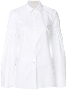 рубашка с многослойными рукавами  Sara Battaglia
