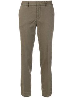 строгие укороченные брюки  Pt01