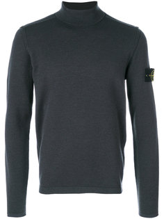 свитер с воротником-воронкой Stone Island