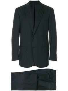 костюм в тонкую полоску Brioni