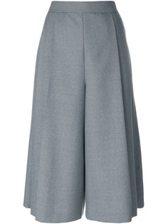 широкие укороченные брюки Thom Browne