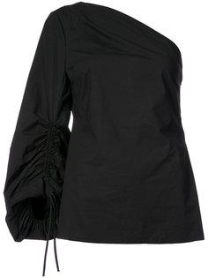 блузка на одно плечо  Natori
