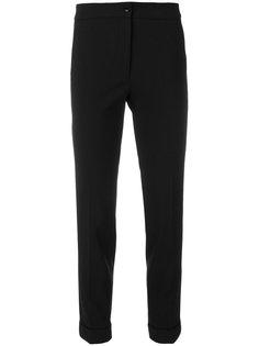 укороченные брюки узкого кроя Etro
